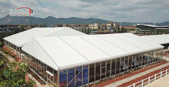 Party Tent With Windows