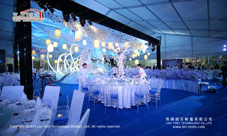 party wedding tent