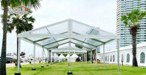 Event Tents With Clear Tops