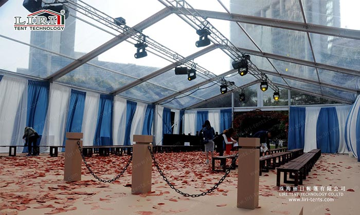 clear top wedding tent & 10-30m Clear Span Transparent Party Wedding Tent - Party Tent for Sale