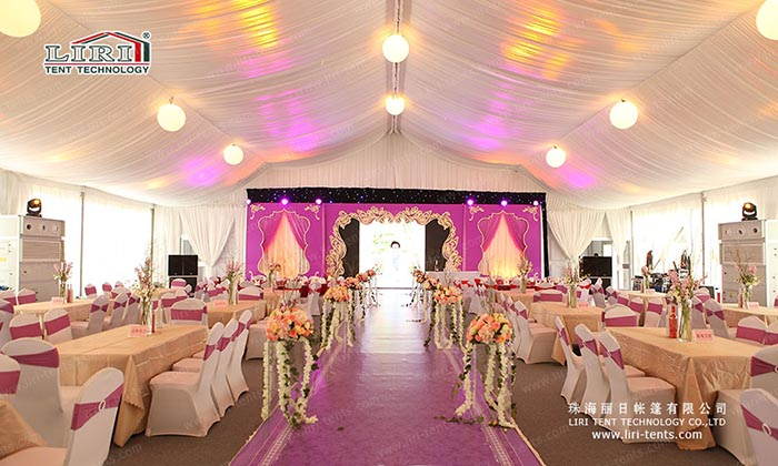 metal frame party tents hot sale