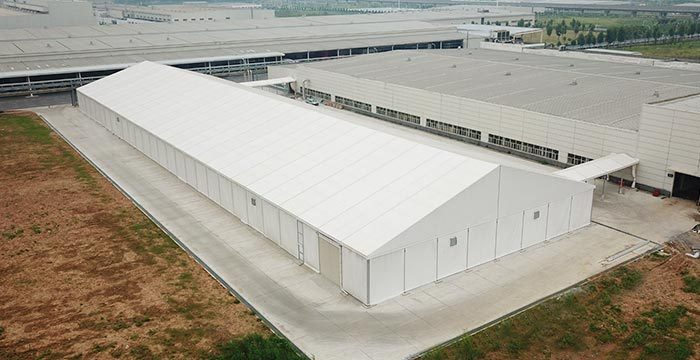 Commercial Industrial Storage Tents