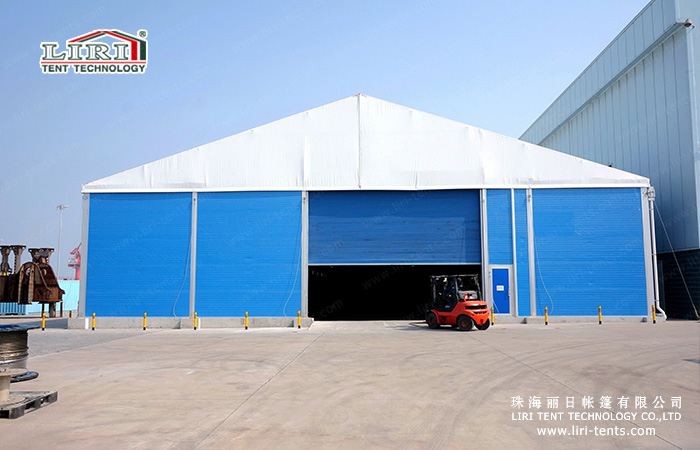 Alternative To Commercial Storage Industrial Tents