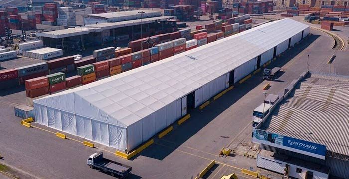 Advantage of  Temporary Warehouse Structures Tents