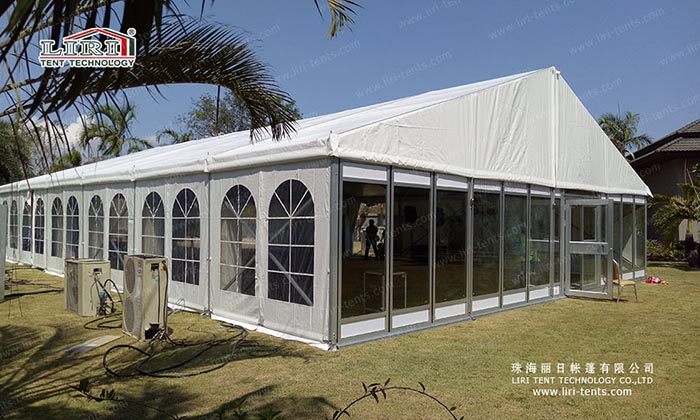wedding reception tents for wedding ceremony