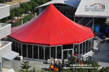 high peak round tent