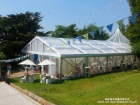 transparent tent with clear roof cover and sidewalls (3)