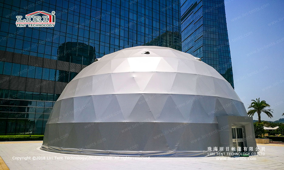 Large outdoor Spherical tent