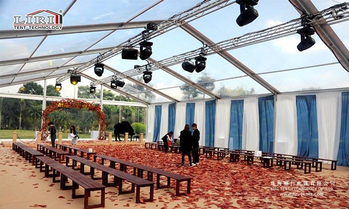 big outdoor wedding tents for 500 people