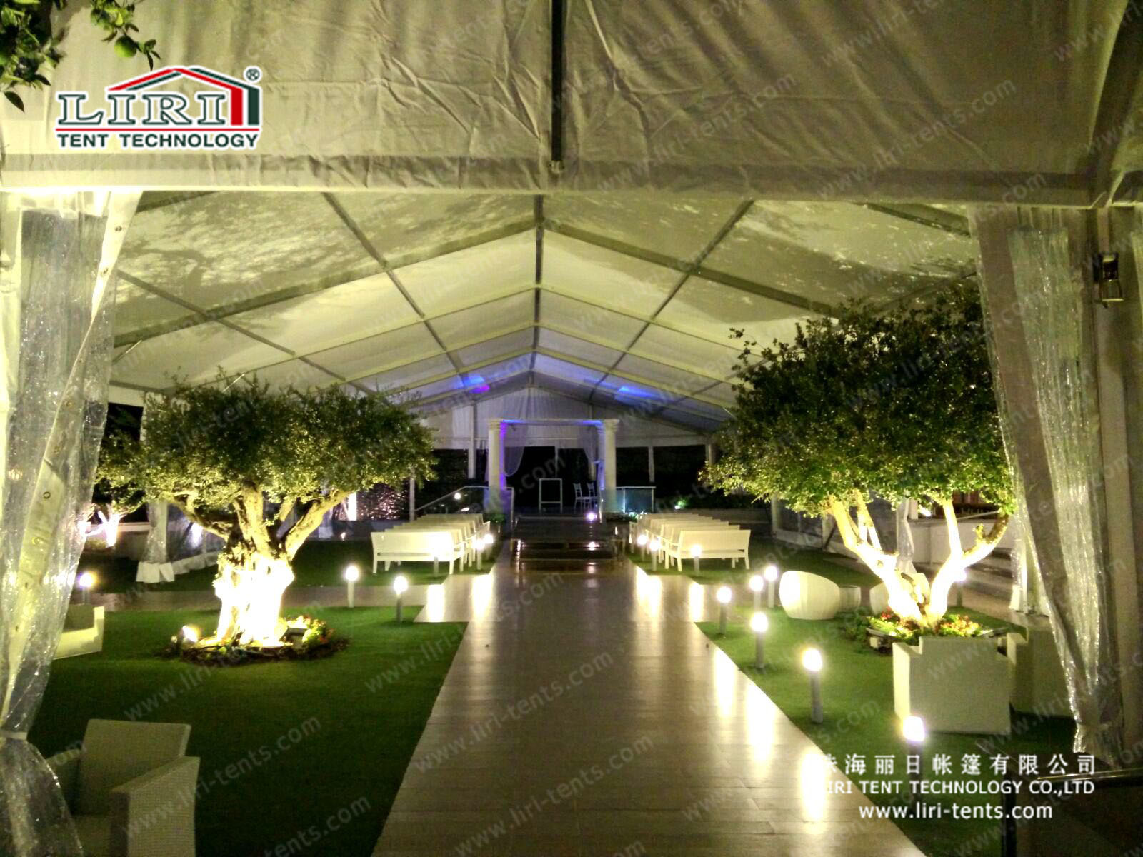 event tents structure