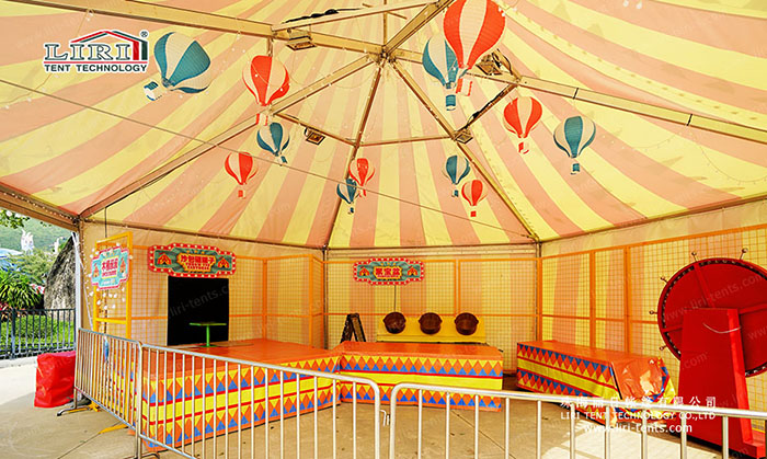 full color event tent