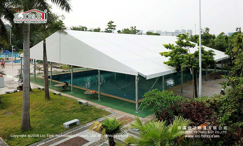 indoor swimming pool tent