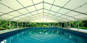 swimming pool tent