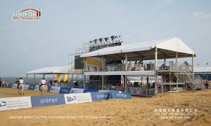 two story sports event structures