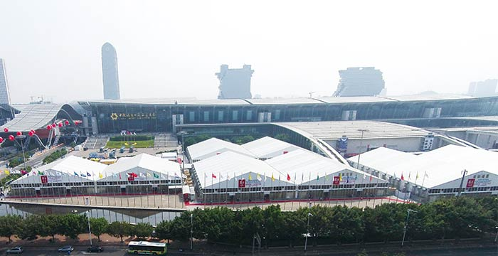 LARGE EXHIBITION TENTS FOR CANTON FAIR