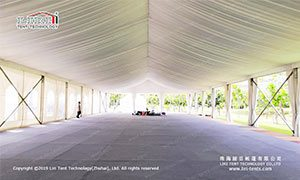party tent lining design