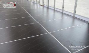 party tents flooring