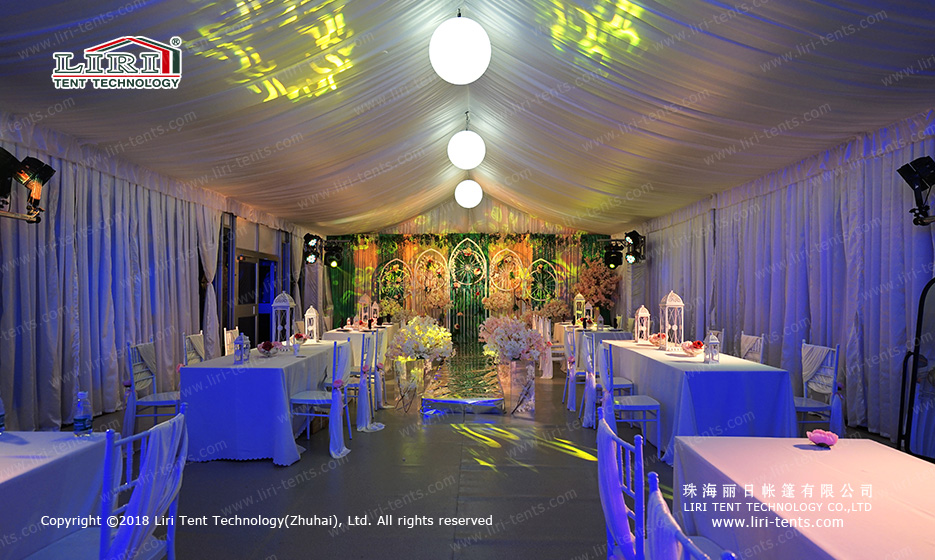 Party Tents decorate
