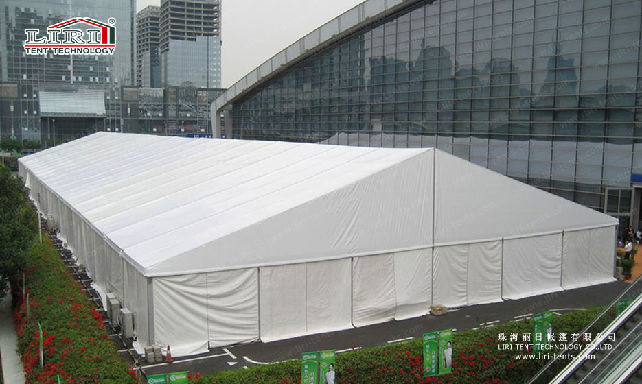 Used Party Tent Facade
