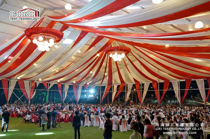 clear span large party tents