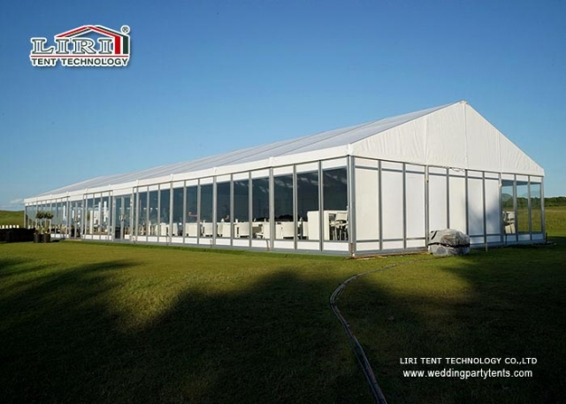clear span tents
