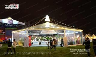 Large hexagon tent