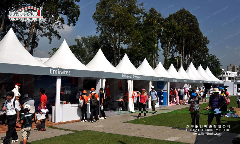 Pagoda Tent for Sports Event