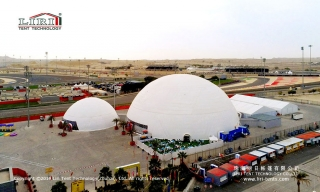Large Geodesic Dome Tents