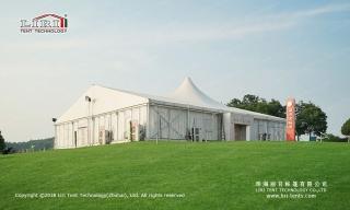 large high peak tents