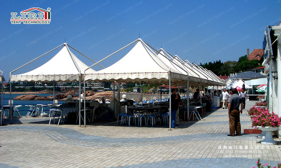 gazebo tent with lining and curtain