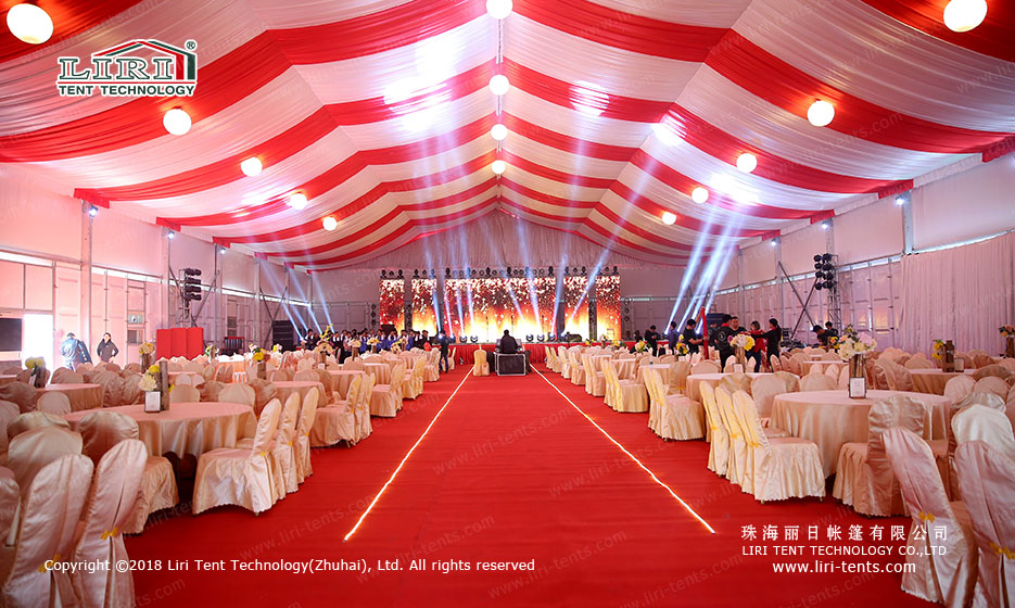 large outdoor party tent