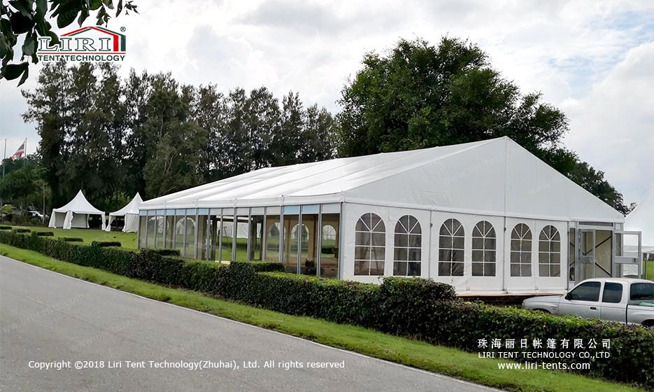 outdoor party tent with sides
