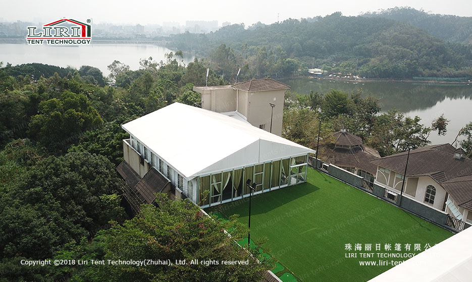 10x30 White Party Tent