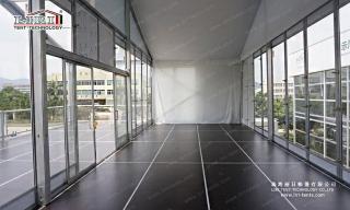 Modular party tents flooring