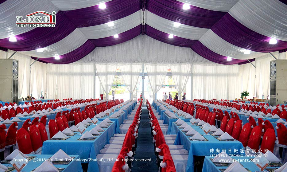 Christmas Party Tent indoor