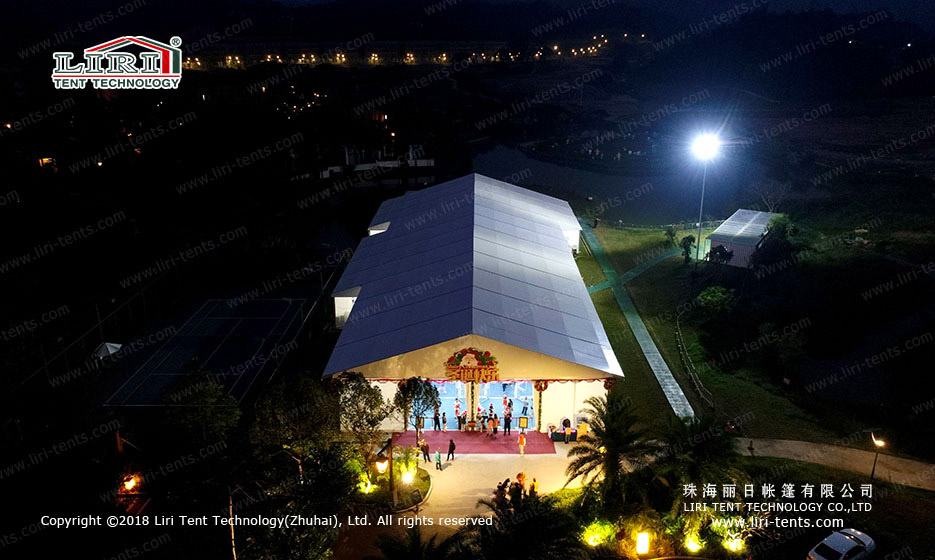 outdoors Christmas Party Tent