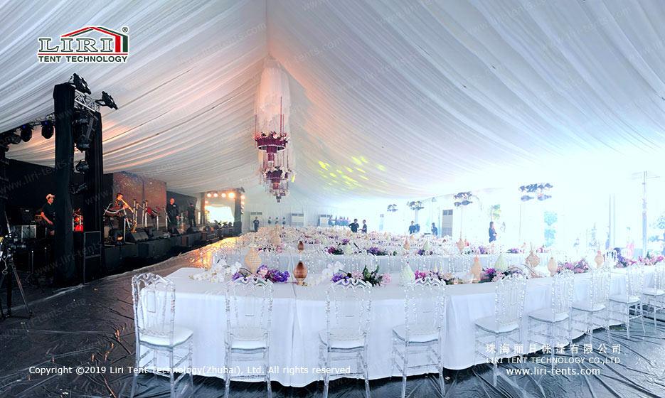 indoor Graduation Party Tent