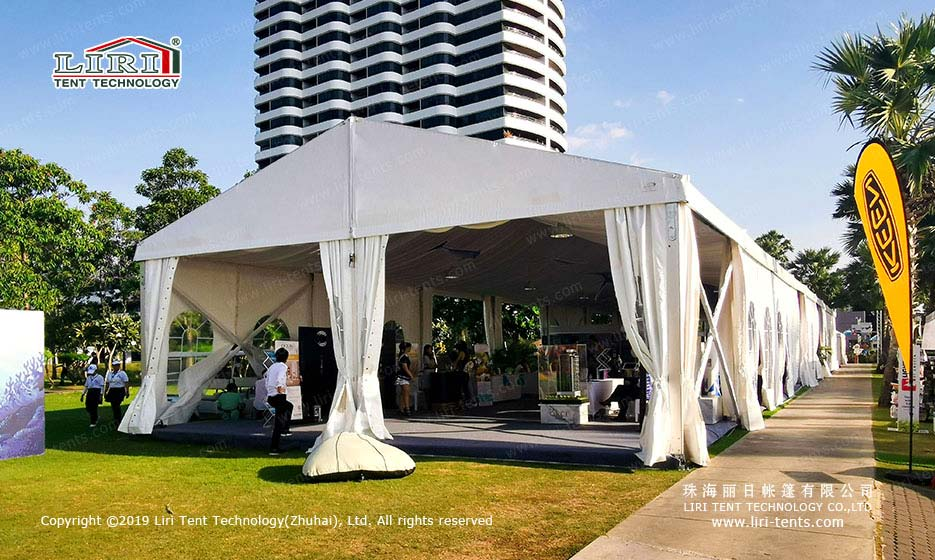 Outdoors Graduation Party Tent