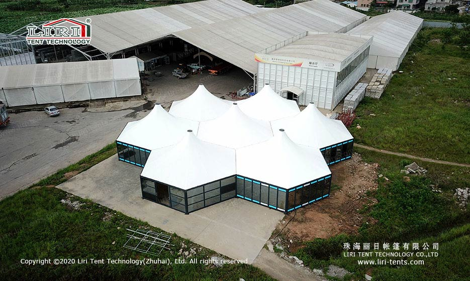Party Tents combination